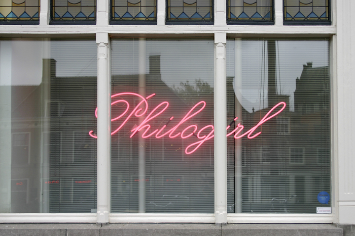 Philogirl Neon Sign