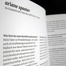 Ariane Spanier in Typopassage
