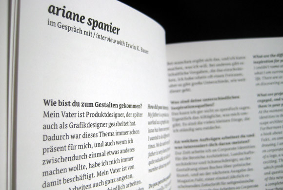 Ariane Spanier in Typopassage 4