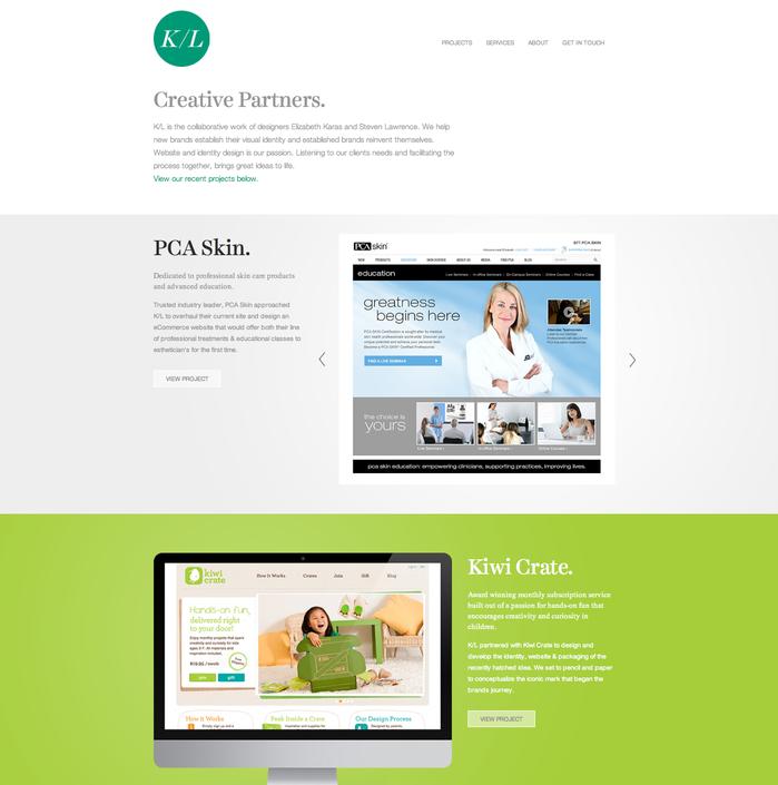 Karas/Lawrence Website 1