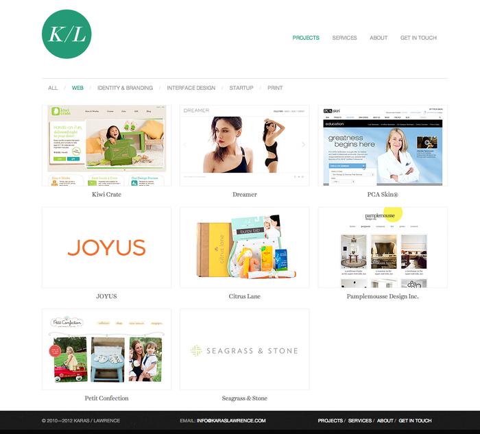 Karas/Lawrence Website 3