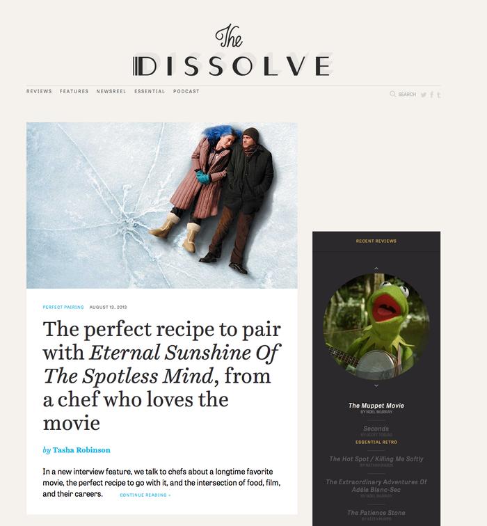 The Dissolve 1