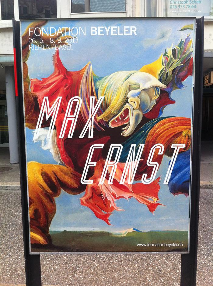 Max Ernst exhibition poster