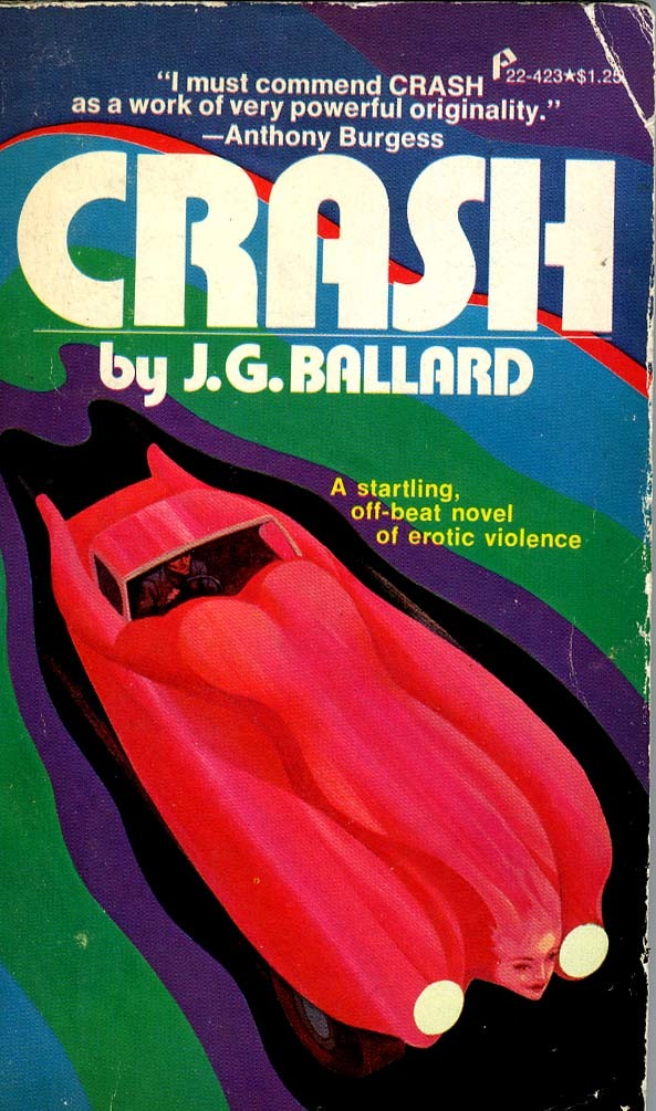 Crash by J.G. Ballard (Pinnacle Edition, 1974) 1