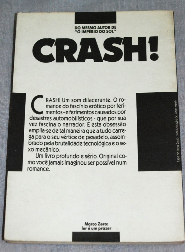 Crash! by J.G. Ballard (Marco Zero Edition) 2