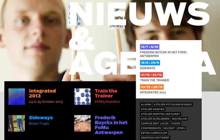 Sint Lucas Antwerpen Website 2