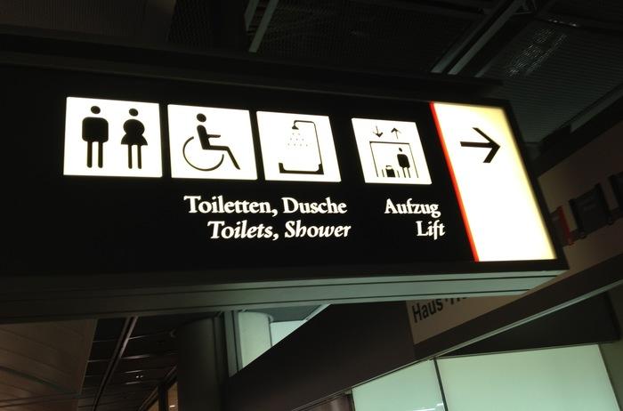 Hamburg Airport signs 1