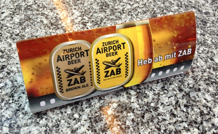 Zurich Airport Beer