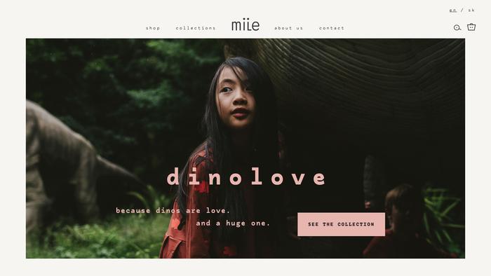Mile website 1