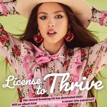 """<cite>Billboard</cite> cover, """"License to Thrive"""", May 2021"""