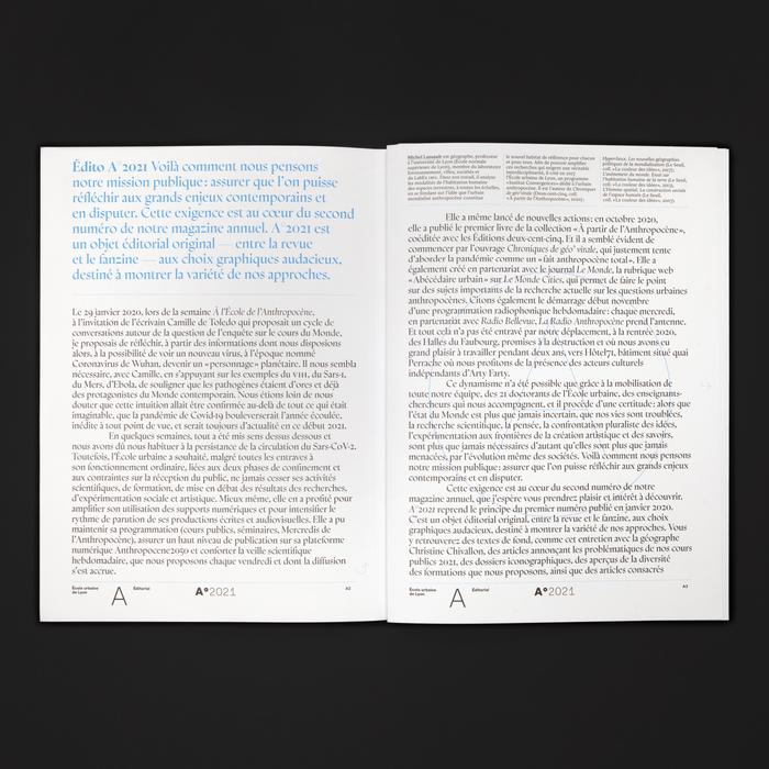 A°2021, le magazine de l'Anthropocène 6
