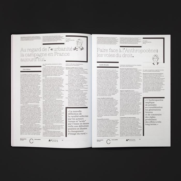 A°2021, le magazine de l'Anthropocène 10