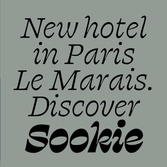 Hotel Sookie identity and website 2