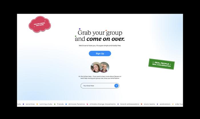 Geneva app website 5