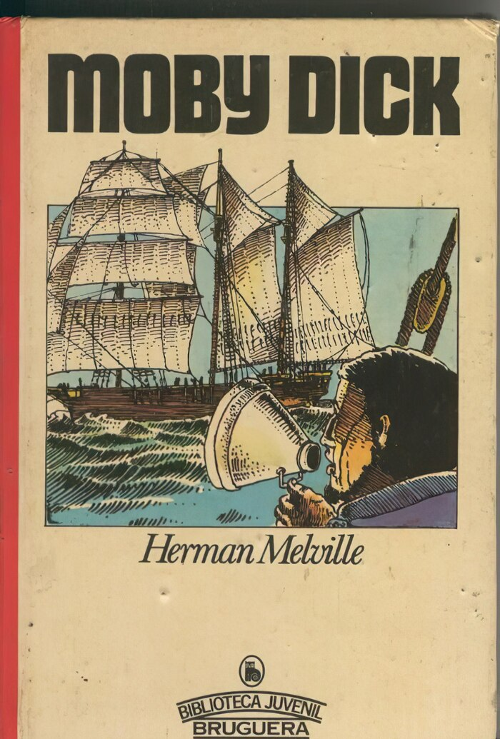 Moby Dick by Herman Melville.