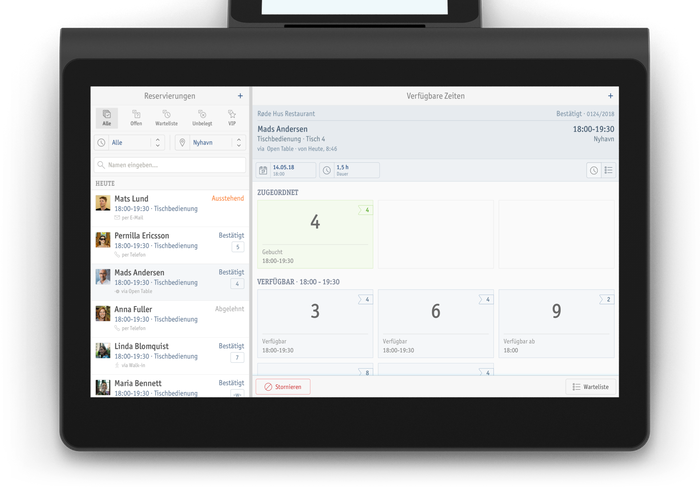 Enfore Dasher and Paypad 4