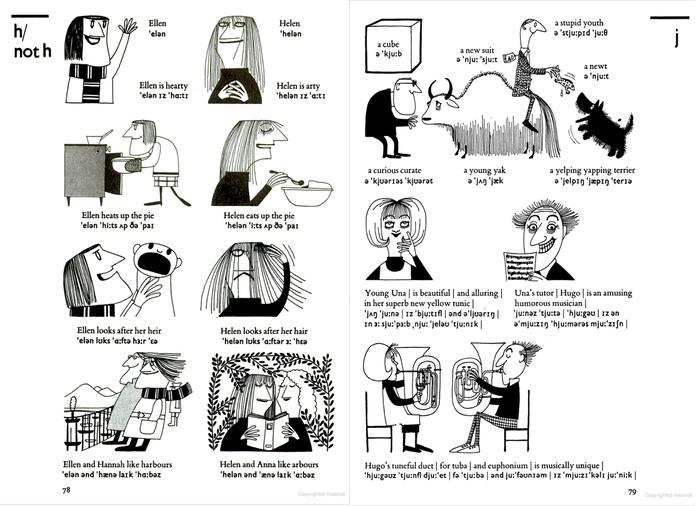 English Pronunciation Illustrated by John Trim (Cambridge University Press, 1975) 4