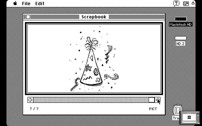 Mac OS Scrapbook app 7