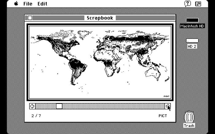 Mac OS Scrapbook app 2