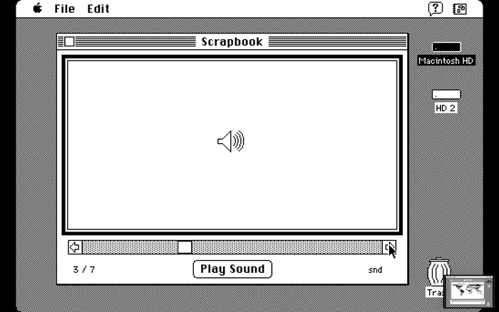 Mac OS Scrapbook app 3
