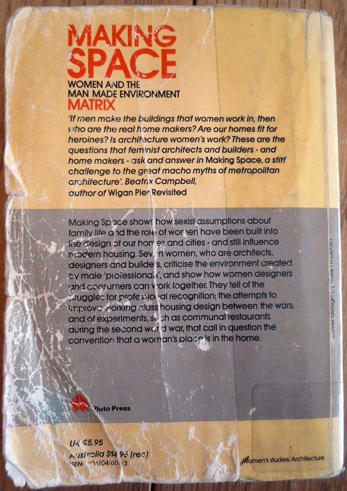 What a beat-up back cover!