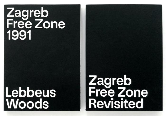 Lebbeus Woods: Zagreb Free Zone Revisited catalog 1