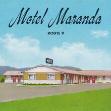 Motel Maranda postcard