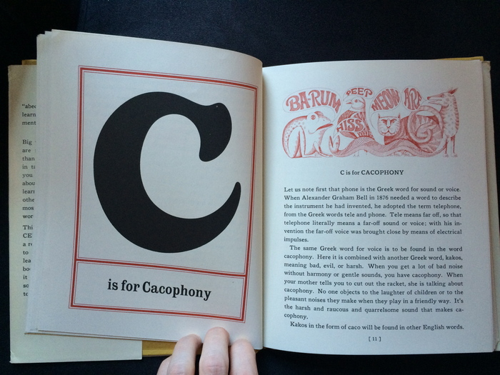 The Abecedarian Book by Charles W. Ferguson 7