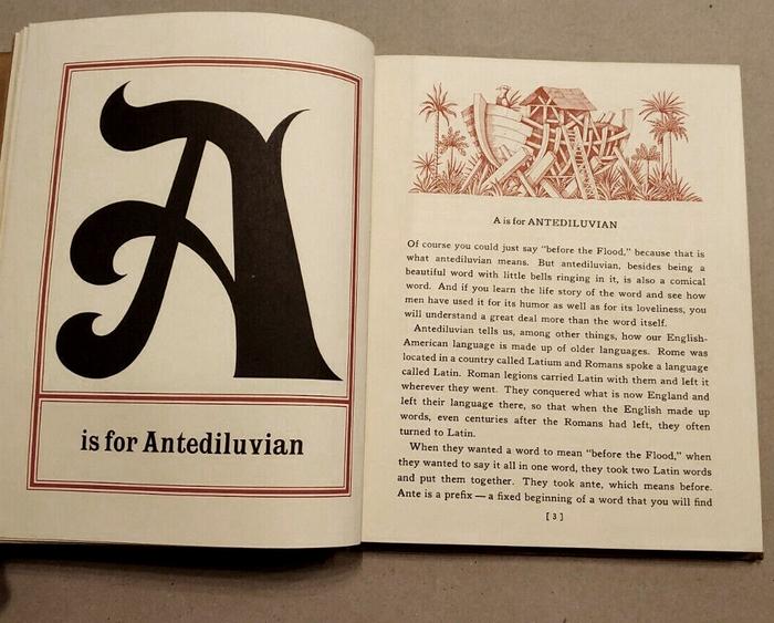 The Abecedarian Book by Charles W. Ferguson 6