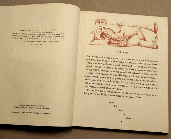 The Abecedarian Book by Charles W. Ferguson 5