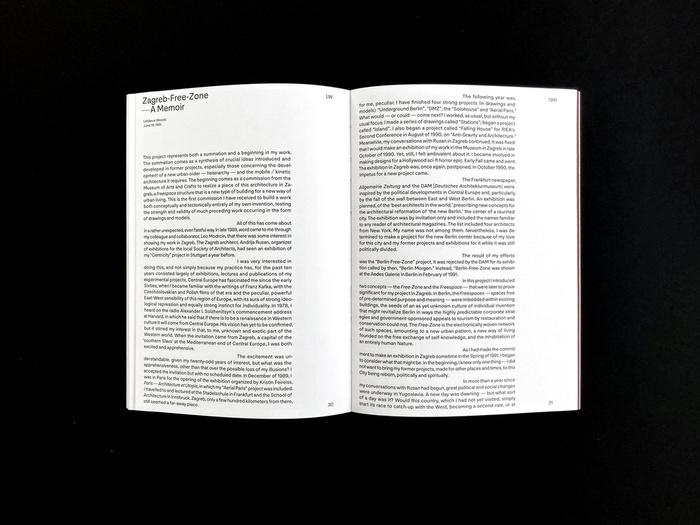 Lebbeus Woods: Zagreb Free Zone Revisited catalog 6