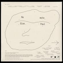 Sloe Paul – <cite>Remote</cite> album art