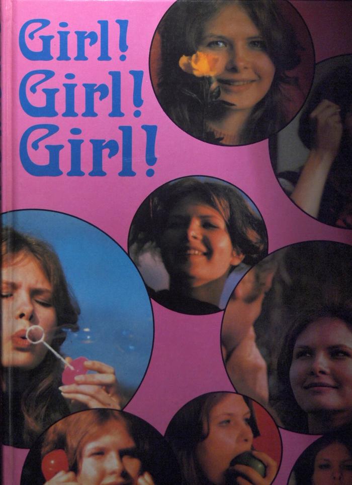Girl! Girl! Girl! annual 1972 (front cover)