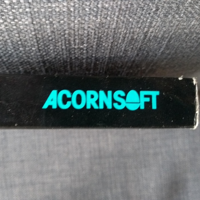 The Acornsoft wordmark which features on the spines of all the books.