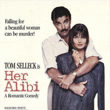 <cite>Her Alibi</cite> (1989) movie poster