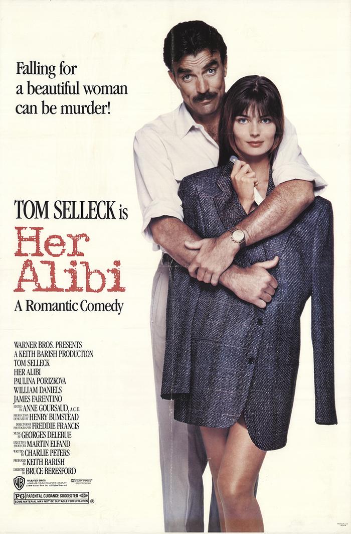 Her Alibi (1989) movie poster