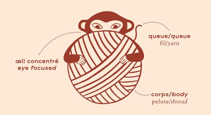 Le singe qui tricote 5