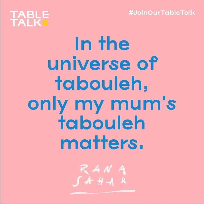 Table Talk 5