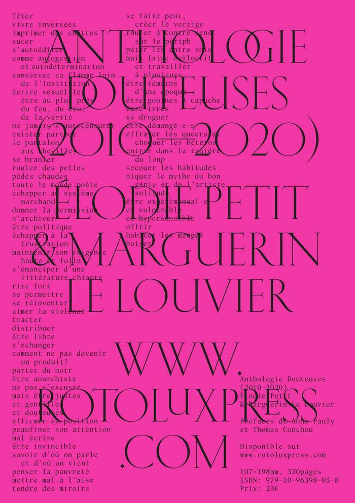 Anthologie Douteuses (2010–2020) 8