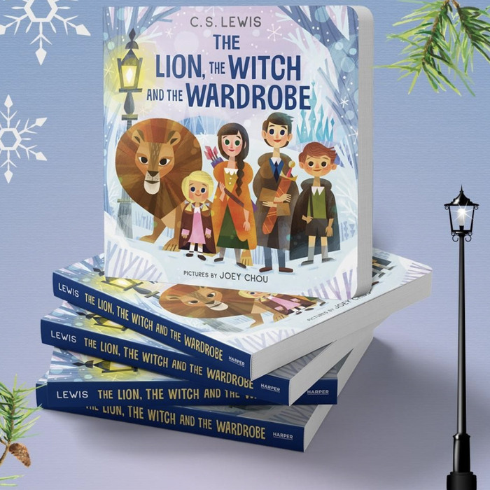 The Lion, the Witch and the Wardrobe by C.S. Lewis 2