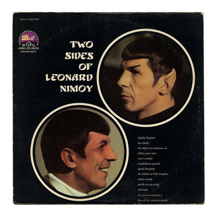 The Two Sides Of Leonard Nimoy album art