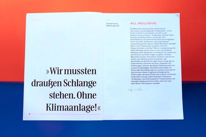 """Akademische Mitteilungen No. 25, """"All Inclusive"""", 2020 2"""