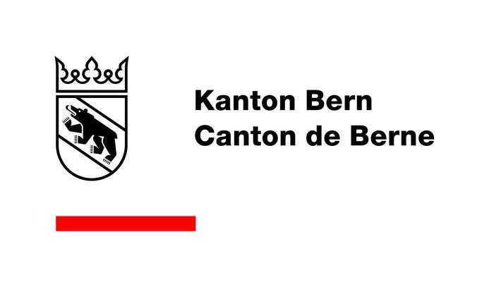 The logo of the canton in German and French, set in Neue Helvetica Bold.