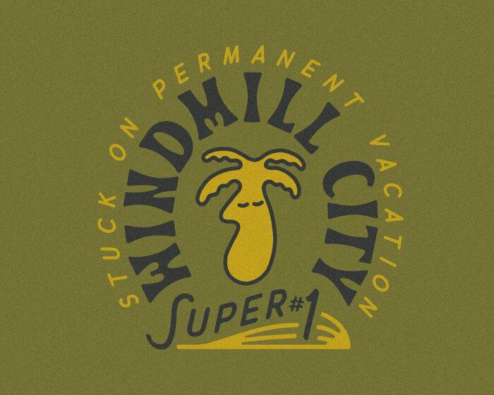 Windmill City Super #1 brand identity 1