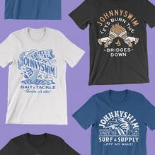 JohnnySwim T-shirts