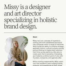 Missy Reinikainen Studio website