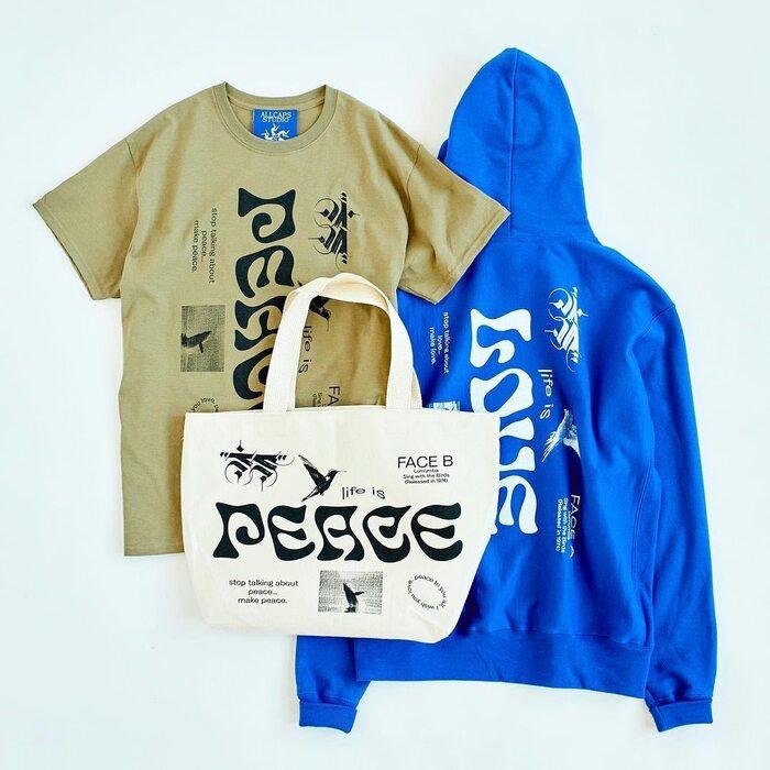 """Peace, Love"" Lumumba streetwear collection 3"