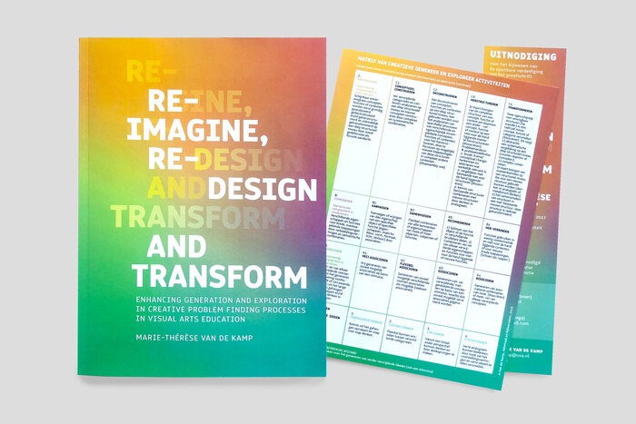 Reimagine, Redesign and Transform by Marie-Thérèse van de Kamp 2