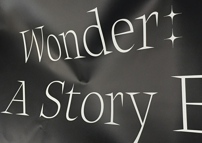 Wonder: A Story Exhibition 1