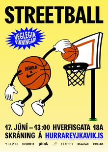 Streetball Húrra Reykjavík